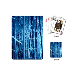 Blue Bamboo Playing Cards (mini)