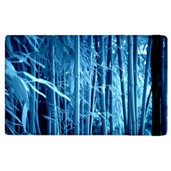 Blue Bamboo Apple Ipad 2 Flip Case