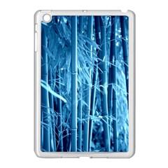 Blue Bamboo Apple iPad Mini Case (White)