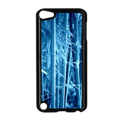 Blue Bamboo Apple iPod Touch 5 Case (Black)