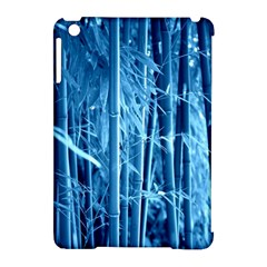 Blue Bamboo Apple Ipad Mini Hardshell Case (compatible With Smart Cover)