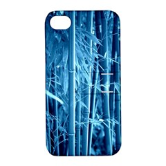 Blue Bamboo Apple iPhone 4/4S Hardshell Case with Stand