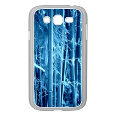 Blue Bamboo Samsung Galaxy Grand DUOS I9082 Case (White)