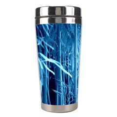 Blue Bamboo Stainless Steel Travel Tumbler