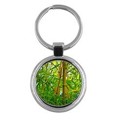 Bamboo Key Chain (Round)