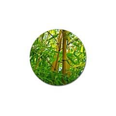 Bamboo Golf Ball Marker 4 Pack