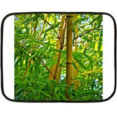 Bamboo Mini Fleece Blanket (Two Sided)