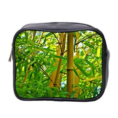 Bamboo Mini Travel Toiletry Bag (two Sides)