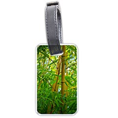 Bamboo Luggage Tag (One Side)