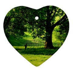 Trees Heart Ornament