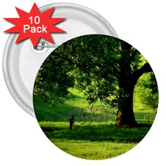 Trees 3  Button (10 pack)