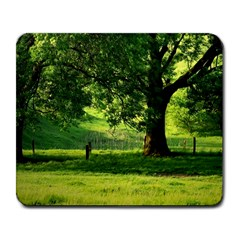 Trees Large Mouse Pad (Rectangle)