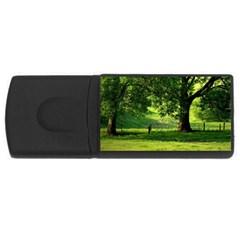 Trees 1GB USB Flash Drive (Rectangle)