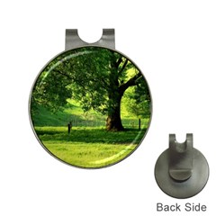 Trees Hat Clip with Golf Ball Marker