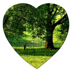 Trees Jigsaw Puzzle (Heart)