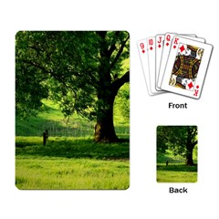 Trees Playing Cards Single Design