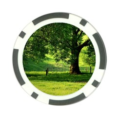 Trees Poker Chip