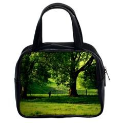 Trees Classic Handbag (Two Sides)