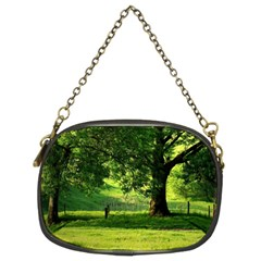 Trees Chain Purse (Two Sided)