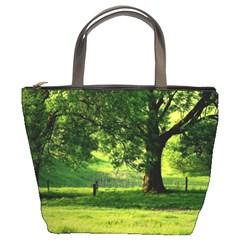 Trees Bucket Bag
