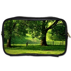 Trees Travel Toiletry Bag (One Side)