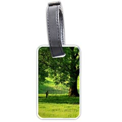 Trees Luggage Tag (two Sides)