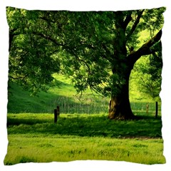 Trees Large Cushion Case (Single Sided)