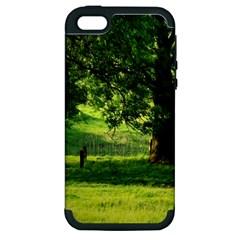 Trees Apple Iphone 5 Hardshell Case (pc+silicone)