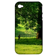Trees Apple iPhone 4/4S Hardshell Case (PC+Silicone)
