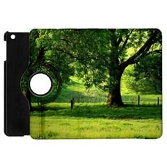 Trees Apple iPad Mini Flip 360 Case