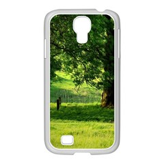 Trees Samsung GALAXY S4 I9500/ I9505 Case (White)