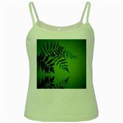 Leaf Green Spaghetti Tank