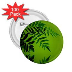 Leaf 2.25  Button (100 pack)