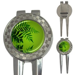 Leaf Golf Pitchfork & Ball Marker