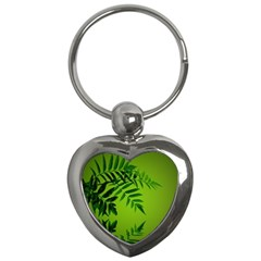 Leaf Key Chain (Heart)