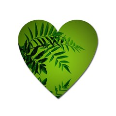 Leaf Magnet (Heart)