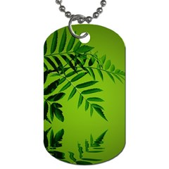 Leaf Dog Tag (One Sided)