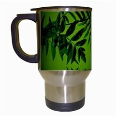 Leaf Travel Mug (white)