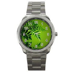 Leaf Sport Metal Watch