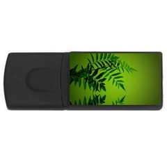 Leaf 4GB USB Flash Drive (Rectangle)