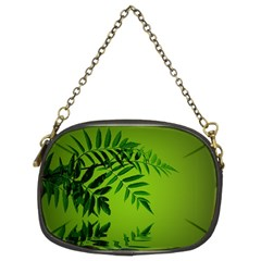 Leaf Chain Purse (two Sided)