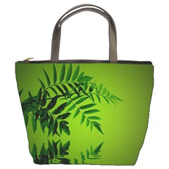 Leaf Bucket Bag
