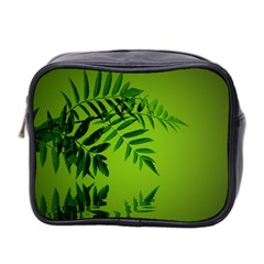 Leaf Mini Travel Toiletry Bag (Two Sides)