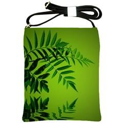 Leaf Shoulder Sling Bag