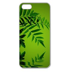 Leaf Apple Seamless Iphone 5 Case (clear)