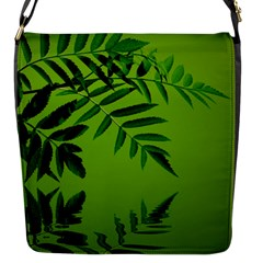 Leaf Flap closure messenger bag (Small)