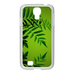 Leaf Samsung GALAXY S4 I9500/ I9505 Case (White)