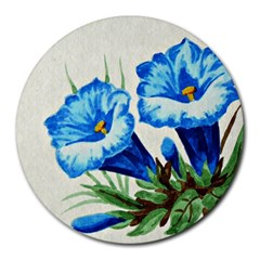 Enzian 8  Mouse Pad (Round)