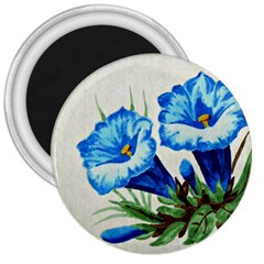 Enzian 3  Button Magnet