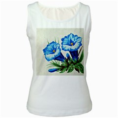 Enzian Womens  Tank Top (White)
